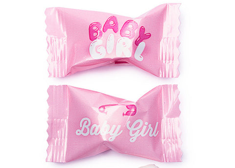 Baby Shower Pink Baby Girl Butter Mints (50 pieces)