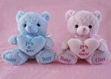 Baby Shower Teddy Bear Plush (1 piece)Pink