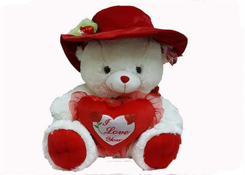"17"" Crafty Hat with Rose (77 pieces) Final Sale (Teddy Bear is not included)"