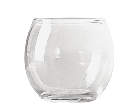 "2-7/16"" Roly Poly Glass Votive Holder- Crystal (36 pcs)"