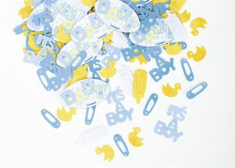 Baby Shower Confetti For Boy(0.5oz. Pack)