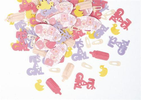Baby Shower Confetti For Girl(0.5oz. Pack)