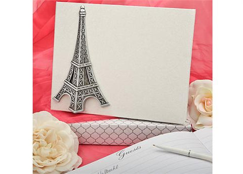 Love In Paris Eiffel Tower Guest Book