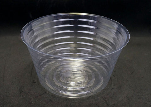 3.5 Inch Deep 6-3/4 Inch Diameter Clear Plastic Liner #2 (10 Pieces)