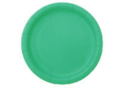 "7"" Caribbean Teal Paper Plates(20 Pieces)"