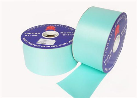 "#40 Celadon Flora Satin Ribbon 2.75"" X 100 yards(1 Roll)"