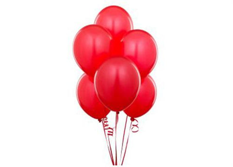 "12"" Red Balloon (72 Pieces)"