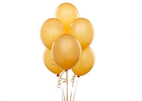 "12"" Metallic Gold Balloon (72 Pieces)"