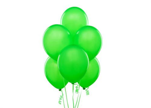 "12"" Lime Green Balloon (72 Pieces)"