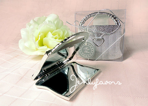 Elegant Sliver Purse Design Mirror (12 Pieces)