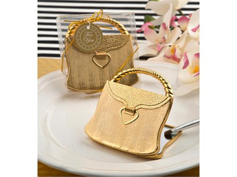 Elegant Gold Purse Design Mirror (12 Pieces)