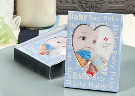Baby Shower Plated Picture Frame boy (12 Pieces)