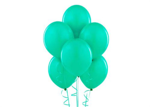 "12"" Teal Balloon (72 Pieces)"