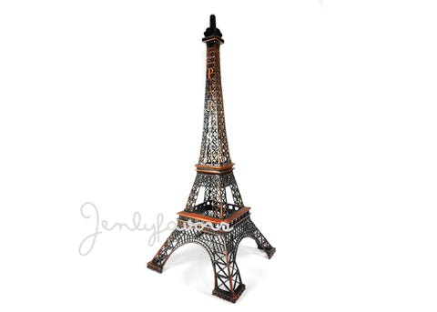 15'' Bronze Finish Eiffel Tower