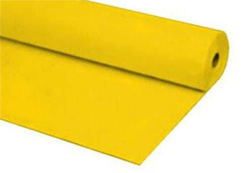 Yellow Plastic Table Cover 40 x 100 ft