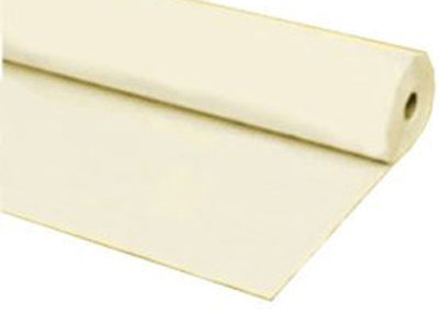 Ivory Plastic Table Cover 40 x 100 ft