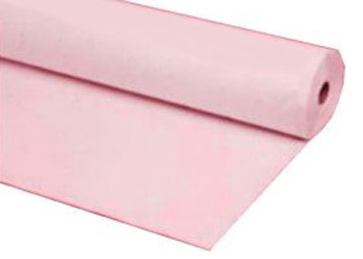 Pink Plastic Table Cover 40 x 100 ft