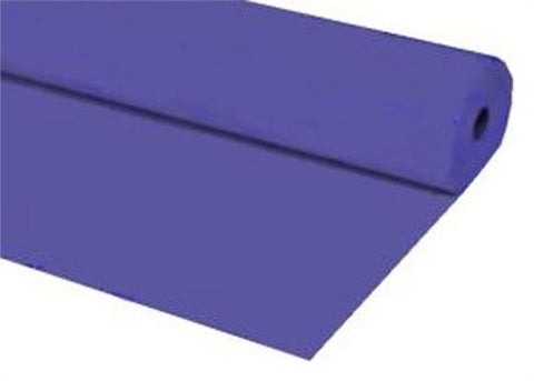 Purple Plastic Table Cover 40 x 100 ft