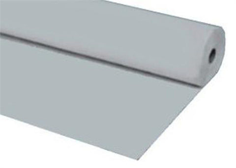 Silver Plastic Table Cover 40 x 100 ft