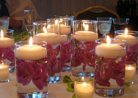 Floating Candle (12 Pieces)Ivory