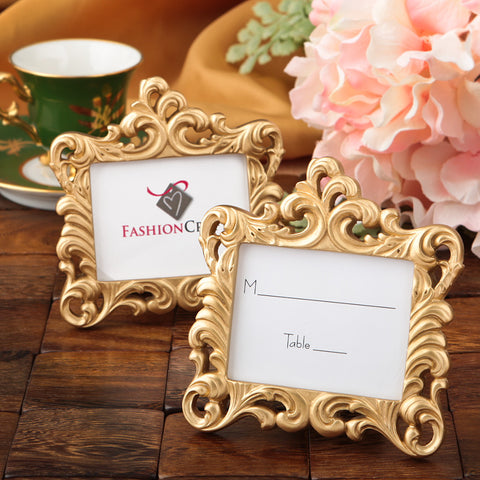Baroque Style Picture Frame Gold (12 Pieces)