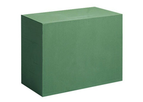 "12""X9""X6"" Aquafoam Deluxe Mega Brick - Green (6 pcs)"