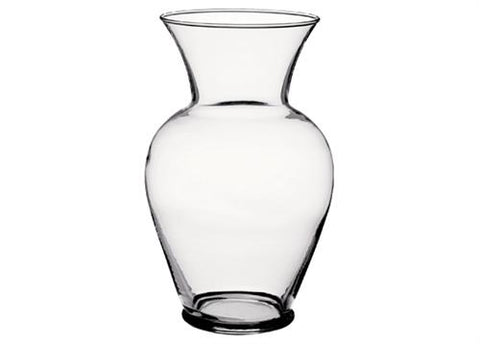 "10-5/8"" Crystal Glass Classic Urn (6 Pieces)"