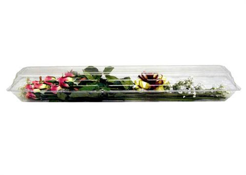 "Plastic Floral Box 31"" Long (12 pieces)"