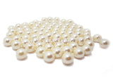 16 mm NO Hole Loose Pearl Beads Table Decor Vase Filler Ivory (1 Pound)