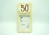 50 Celebration Picture Frame (12 Pieces)