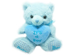 Baby Shower Teddy Bear Plush (1 piece)Blue
