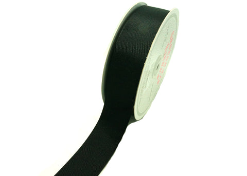 "Grosgrain Ribbon Black 1-1/2"" x 50 YDS"