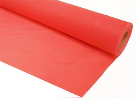 Coral Plastic Table Cover 40 x 100 ft