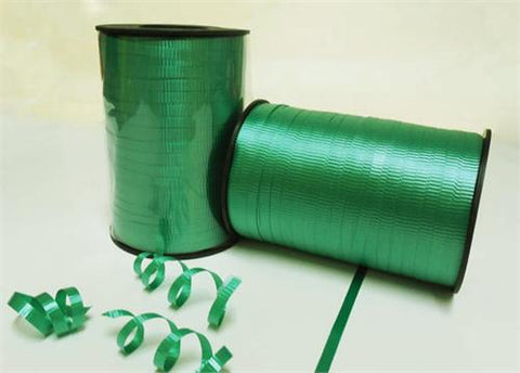 Emerald Curly Ribbon 5mm X 500 Yards (1 Roll)