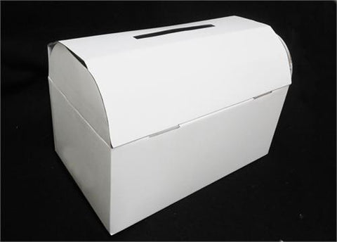 White Wedding Mailbox