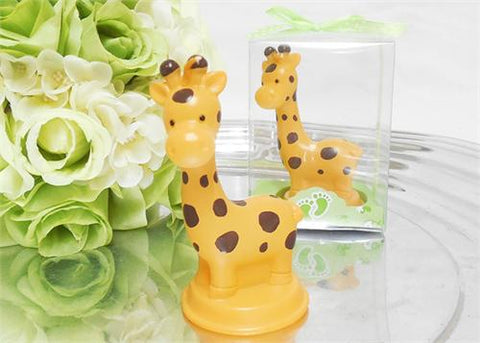 Safary Baby Shower Favor Giraffe Candle (12 Pieces)