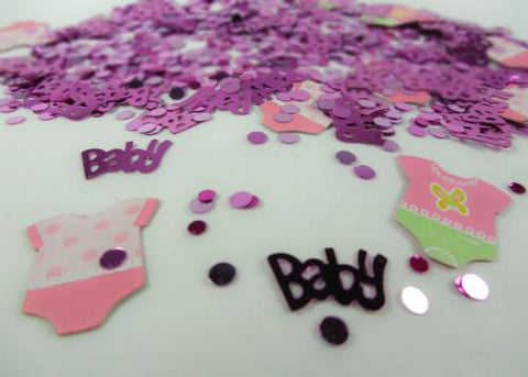 Pink Baby Shower Confetti ( 0.5oz. Pack )