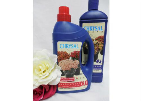Chrysal Flowers Professional Hydrating Solution + Free Processing Solution