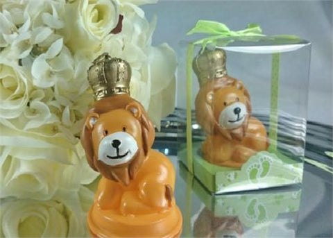 Safary Baby Lion King Candle - Baby Shower Favor  - 12 pcs