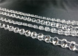 4 mm Crystal Diamante Effect Banding 10 yard