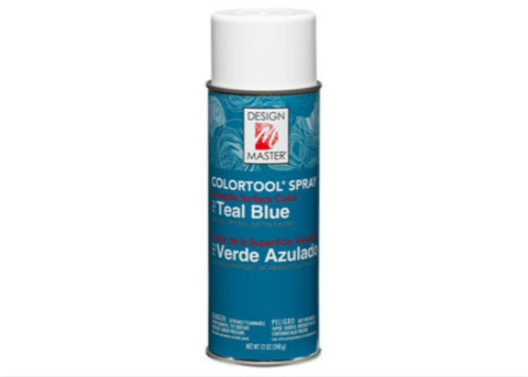Design  Master Teal Blue Spray (12 oz)