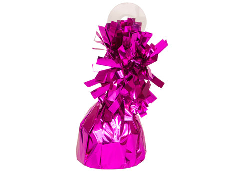 Metalic Fuchsia Foil Balloon Weights (1 Piece)