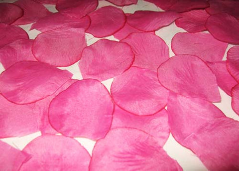 Silk Rose Petals Fuchsia (1728PCS)