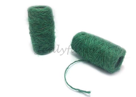 1.5 mm X 118 ft Jute Cord Green
