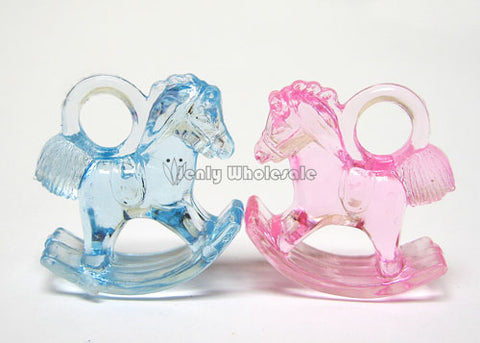 "1.25"" Plastic Mini Baby Rocking Horse (144 Pieces)