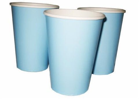 12 oz. Baby Blue Paper Cup (10 Pieces)