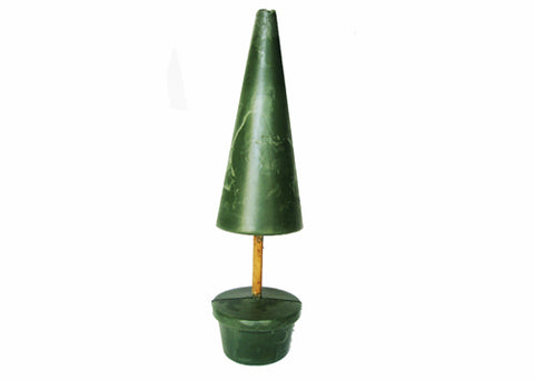 "21""H 12"" Cone Shape Topiary Foam"