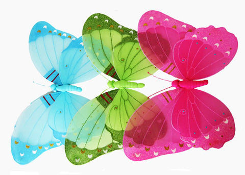 "24"" Xtra Large Assorted Butterflies (6 Pieces)"