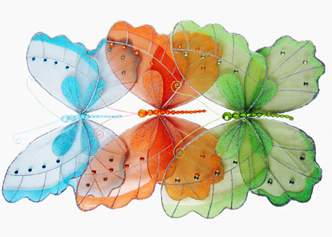 "20"" Large Assorted Butterflies (6 Pieces)"