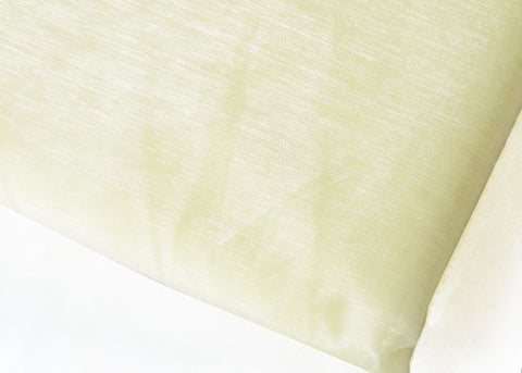 Ivory Sheer Organza Sheet With Sewn Edge 58 x 10 yards